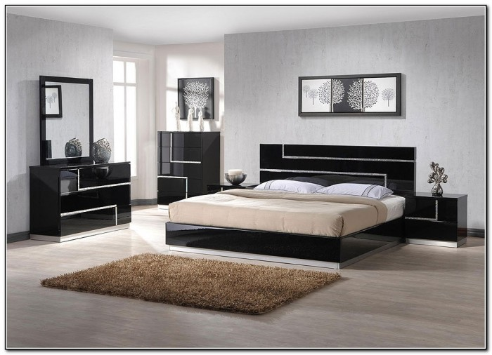 Modern Bed Room Sets
