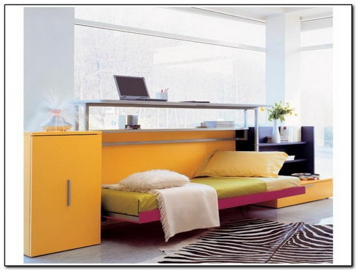 Modern murphy bed with desk beds home design ideas Modern murphy bed
