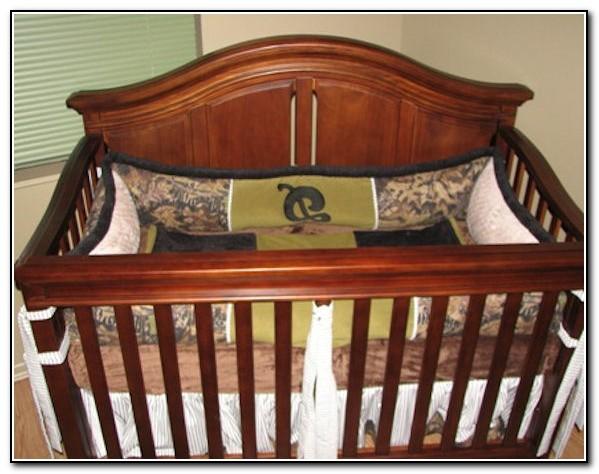 7pc Camo Mossy Oak Fabric Pink Crib Bedding Nursery Set: Hot Pink Camo Crib Bedding