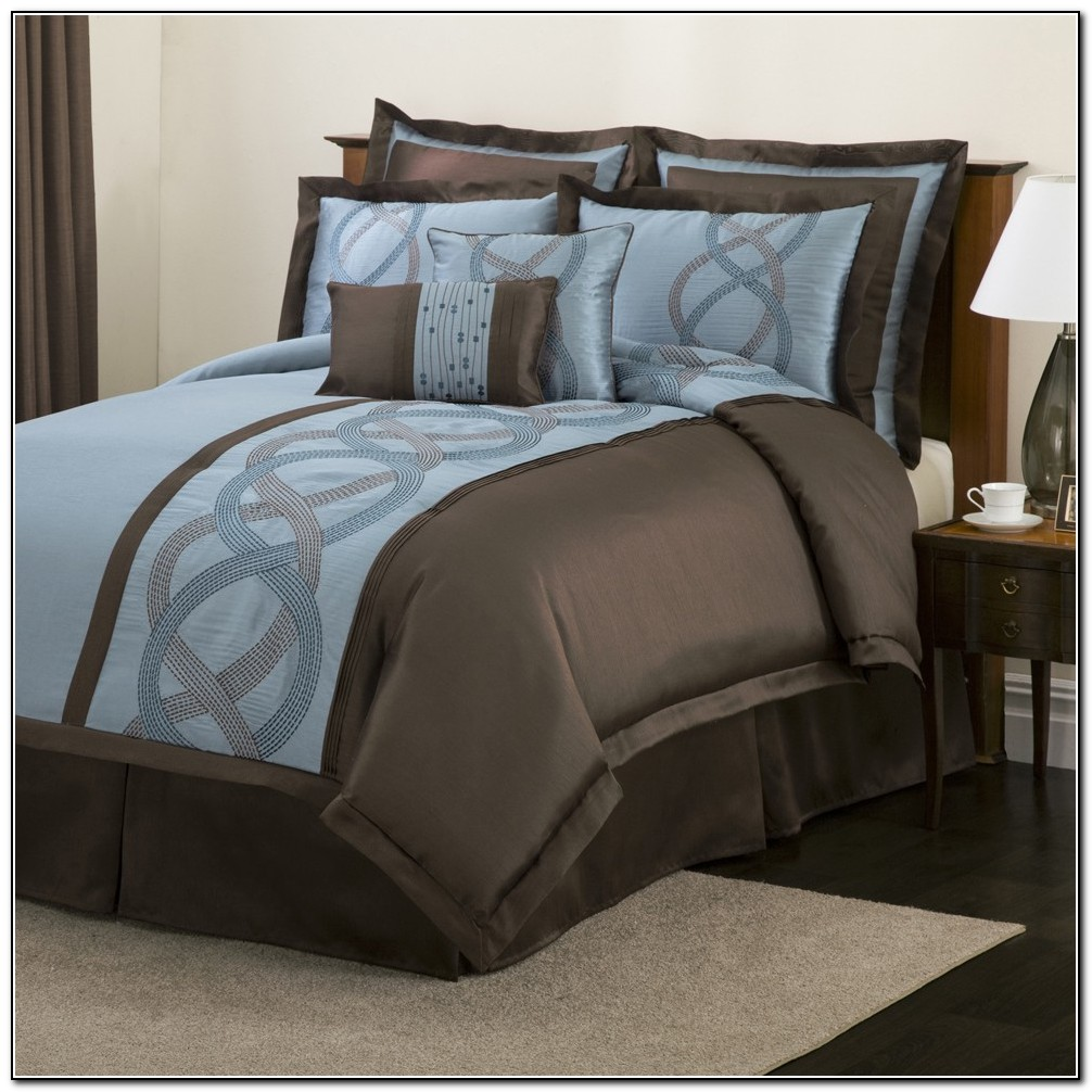 Navy Blue And Brown Bedding Beds Home Design Ideas