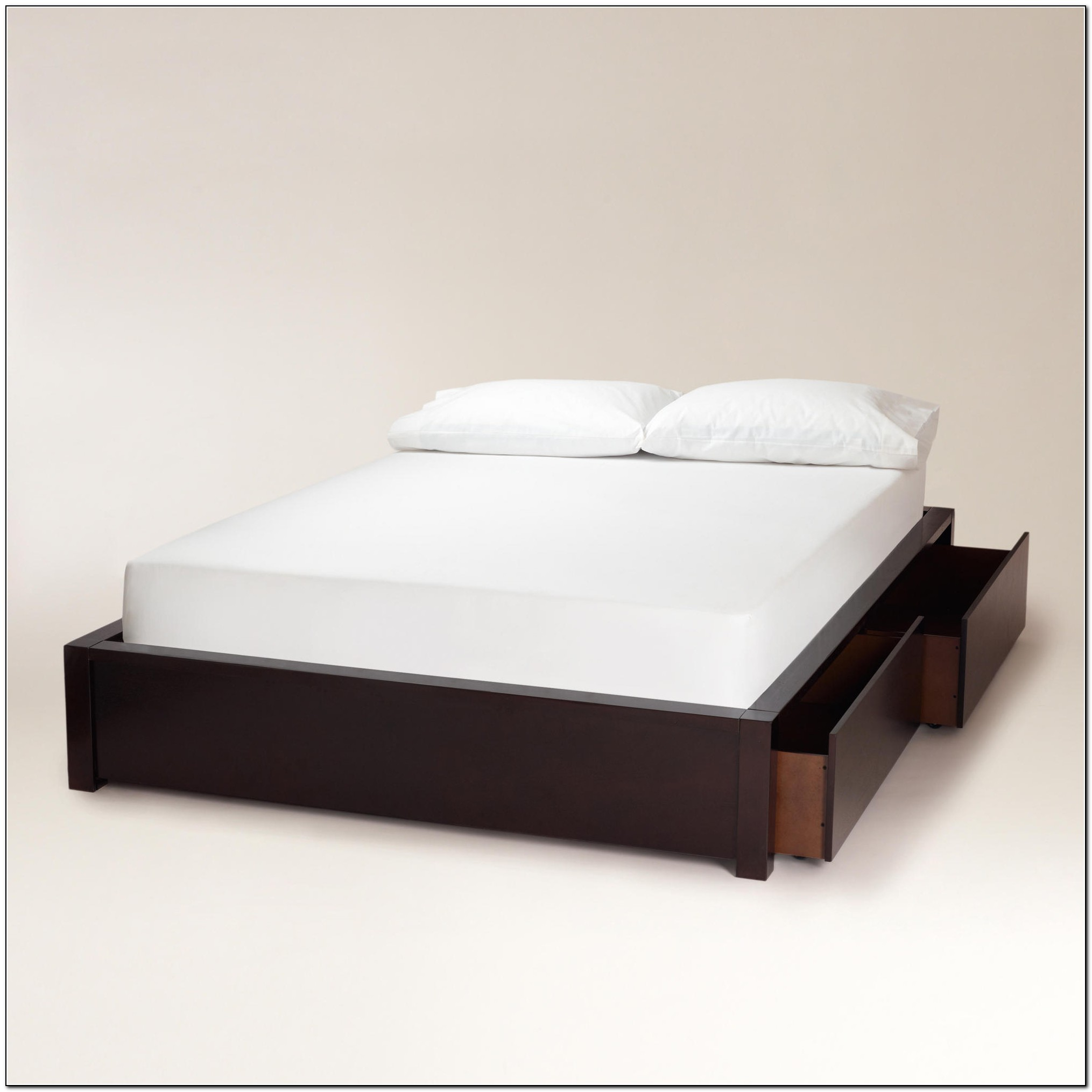 Platform Bed With Drawers Full Size Beds Home Design