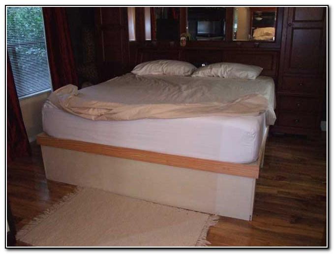 Platform Storage Bed Diy