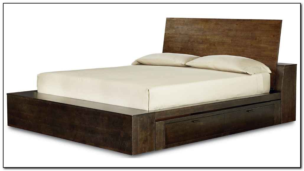 Platform Storage Bed Queen