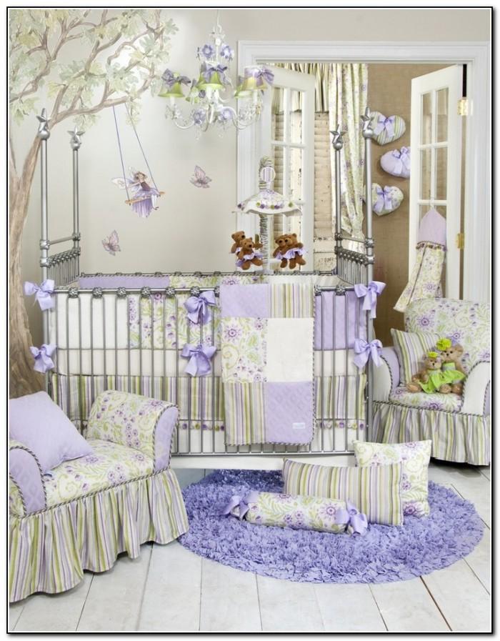 Baby Girl Crib Bedding Sets Purple Beds Home Design