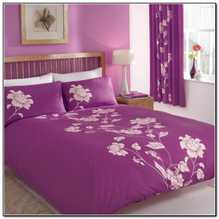 nursery bedding sets purple