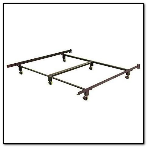Queen Metal Bed Frame No Wheels