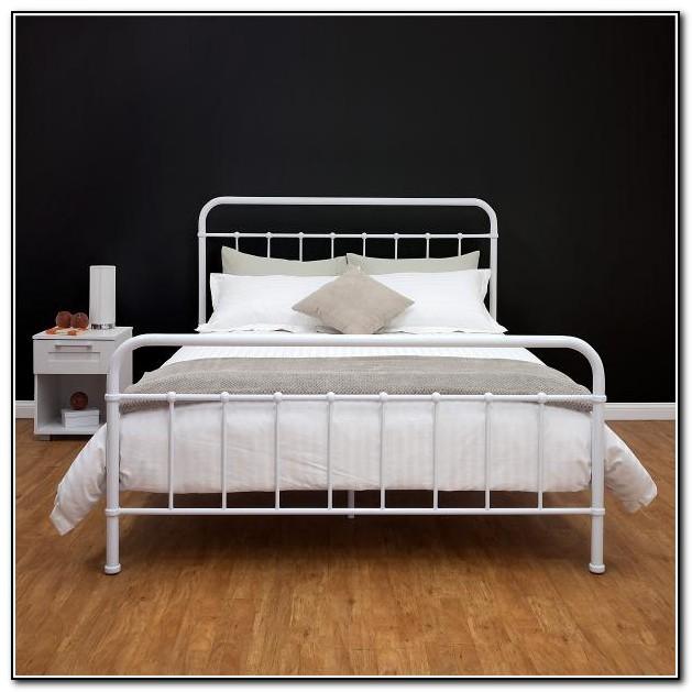 Queen Metal Bed Frame Target