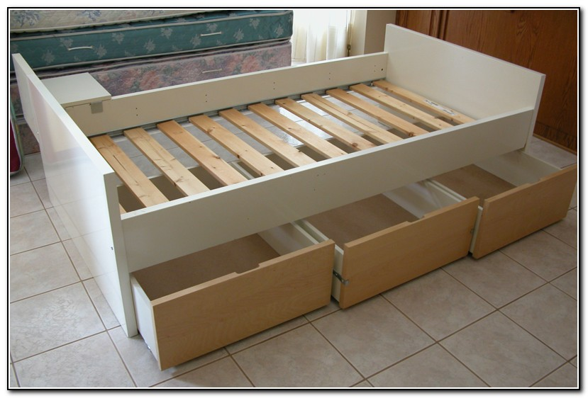 Twin Bed With Drawers Ikea Download Page Home Design