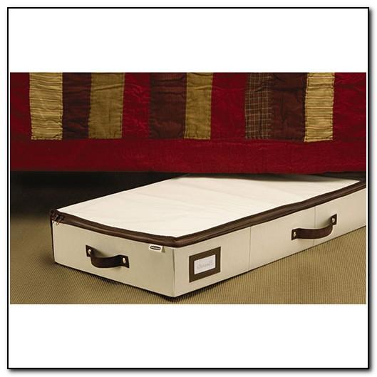 Under The Bed Storage Bins