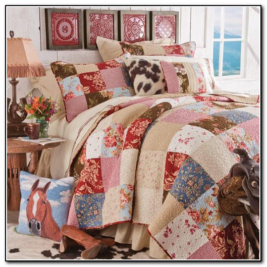 Western bedding sets for kids beds home design ideas for Cowgirl bedroom ideas for kids