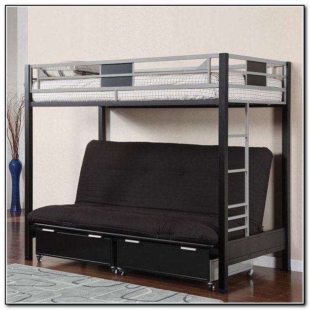 Wood Bunk Bed With Futon Beds Home Design Ideas  : wood futon bunk beds from www.ultradesks.com size 629 x 629 jpeg 77kB