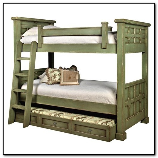 Black Bunk Beds With Trundle Beds Home Design Ideas