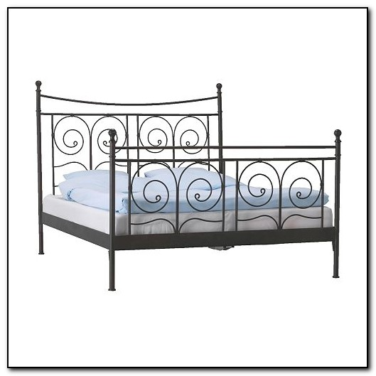 Wrought iron beds ikea beds home design ideas for Wrought iron bedroom furniture