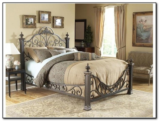 Wrought iron bedroom furniture beds home design ideas abpwgy9pvx7435 for Wrought iron and wood bedroom sets