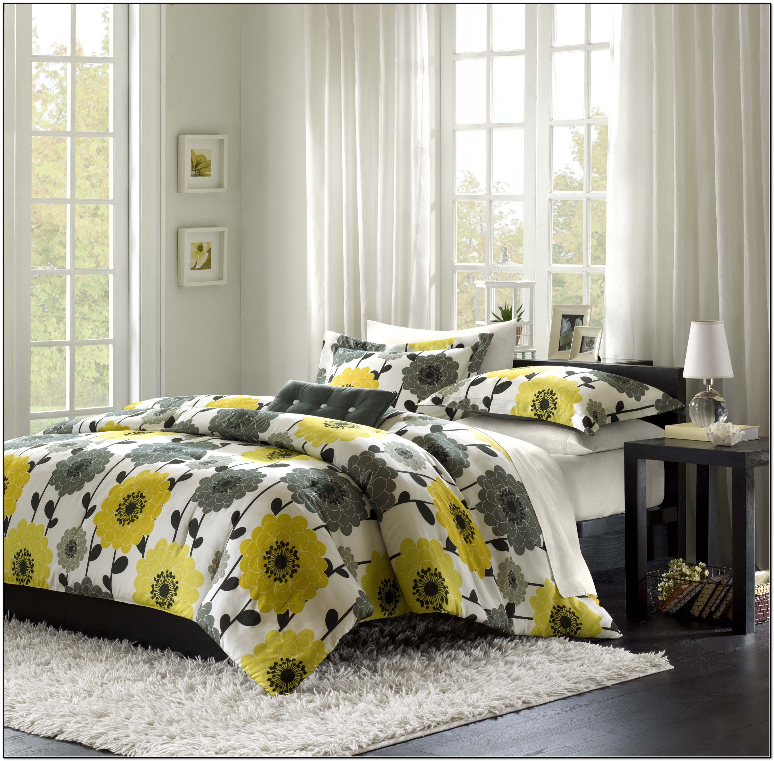 Yellow And Grey Bedding Kohl S Beds Home Design Ideas