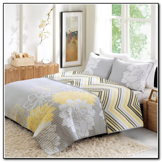 Yellow And Grey Bedding Walmart