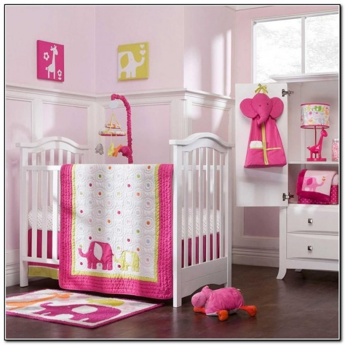 Baby Elephant Crib Bedding