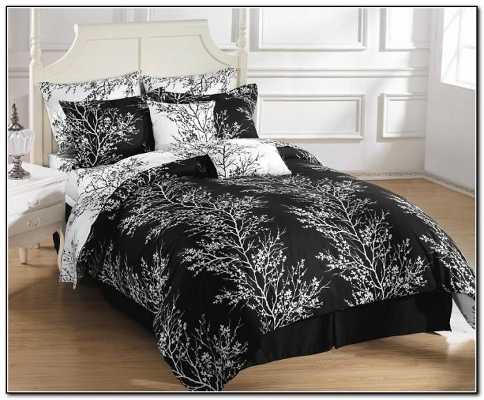 black and white bedding sets full size beds home design ideas ymnglbvdro7112. Black Bedroom Furniture Sets. Home Design Ideas