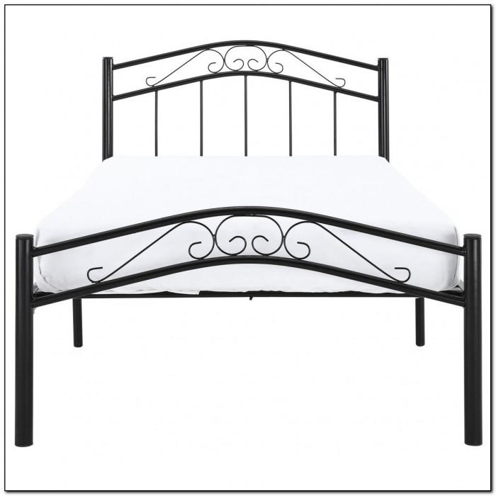 Black Bed Frame Twin