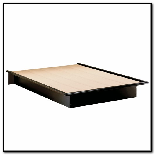 Black Platform Bed Frame