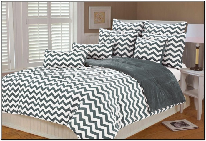 Black Grey And White Bedding Beds Home Design Ideas