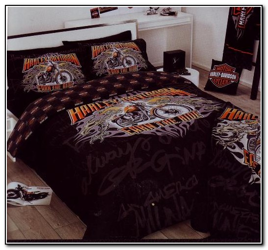 Harley Davidson Queen Size Bedding