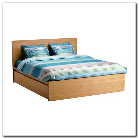 Bed Frame High Malm