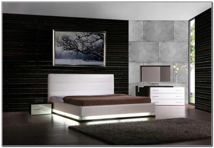 Modern Platform Beds With Lights
