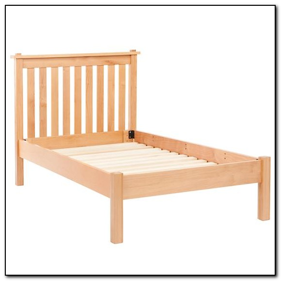 Natural Wood Bed Frames