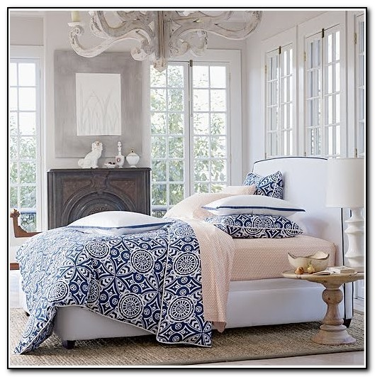 Navy And White Bedding King Beds Home Design Ideas