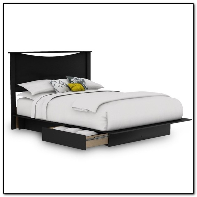 Platform Bed Queen With Storage