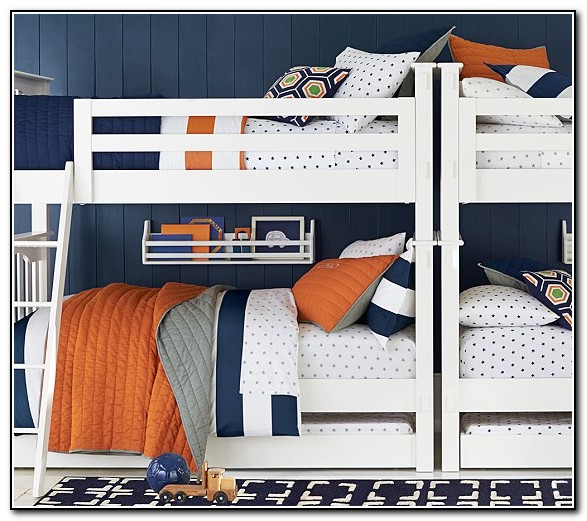 Pottery Barn Bunk Beds With Stairs