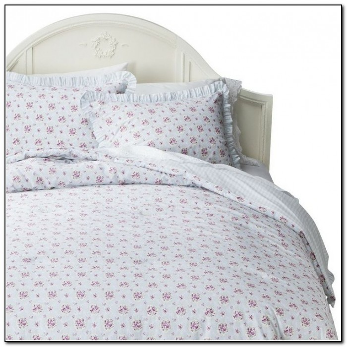 Simply Shabby Chic Bedding Blue
