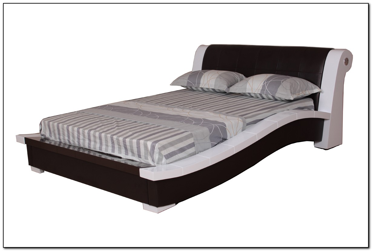 tall bed frame king beds home design ideas. Black Bedroom Furniture Sets. Home Design Ideas