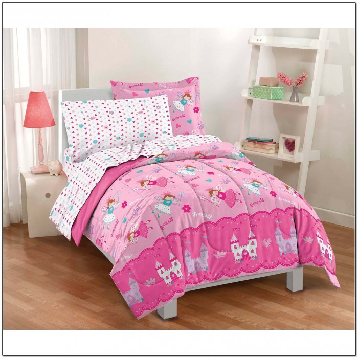 Twin Bed In A Bag For Girls