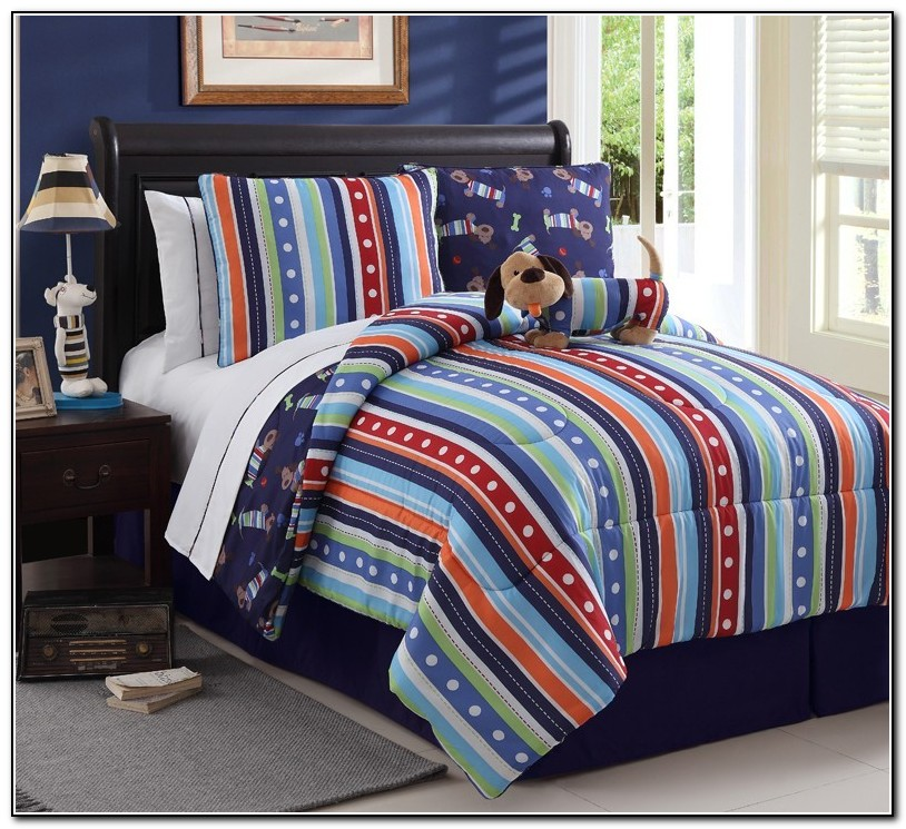 Twin Bed In A Bag Sets For Boys