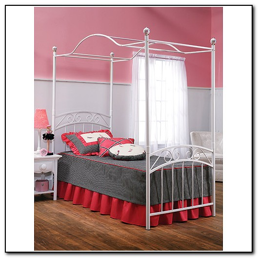 Twin Canopy Bed Frame Kit