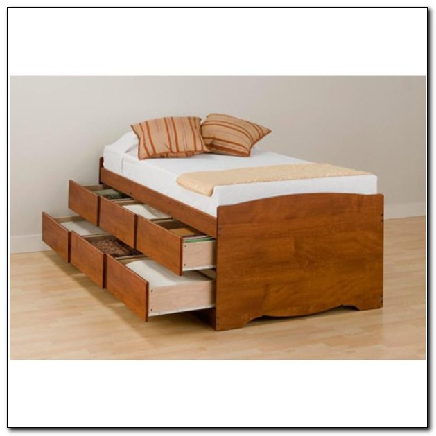 Twin Xl Bed Frame Wood