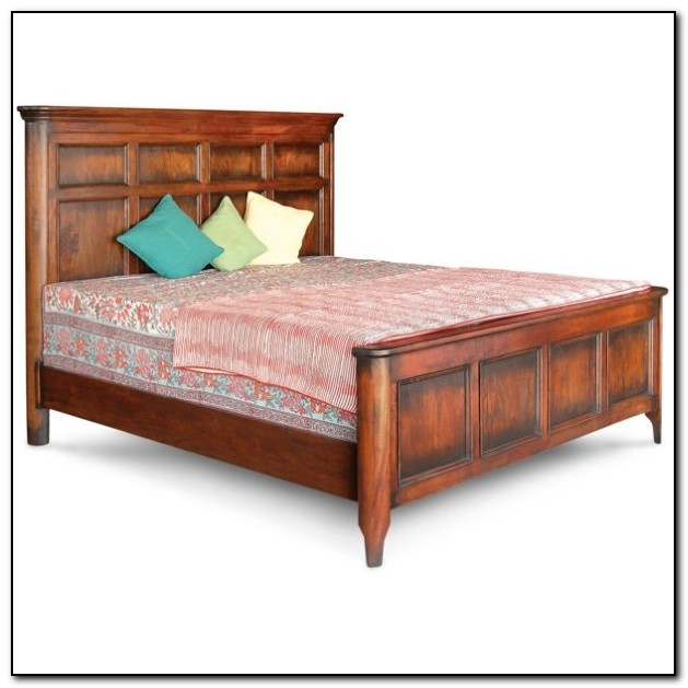 Wood Bed Frames King