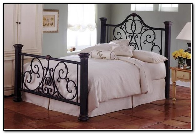 wrought iron bed frames full - Wrought Iron Bed Frame