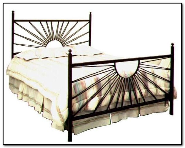 Wrought Iron Bed Frames King