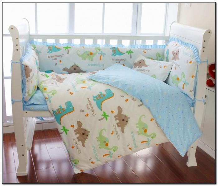 Baby Boy Dinosaur Crib Bedding