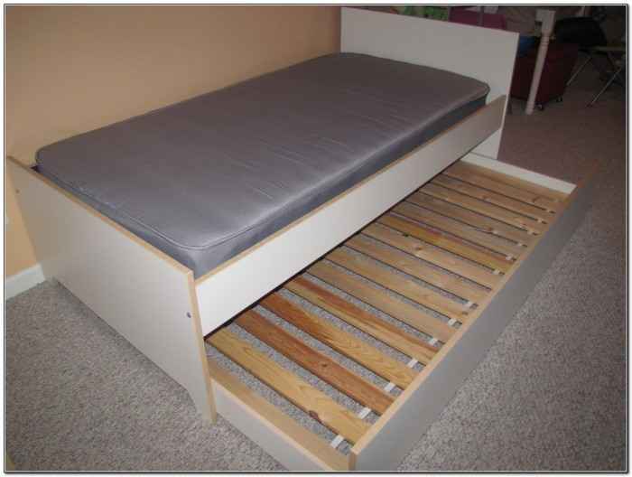 Pop Up Trundle Bed Ikea Beds Home Design Ideas