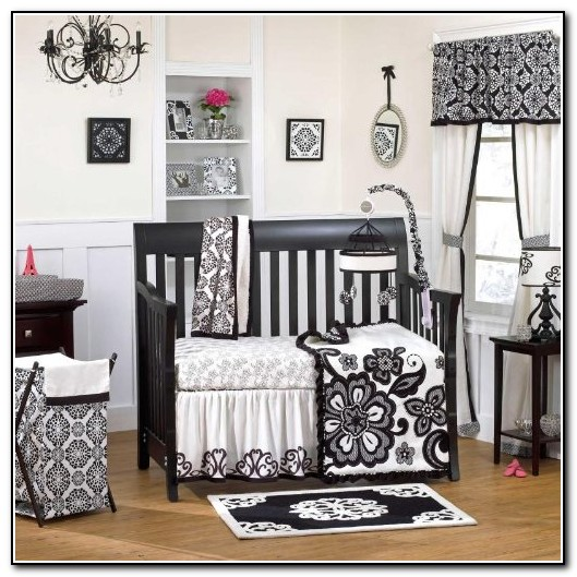 Black And White Crib Bedding Sets