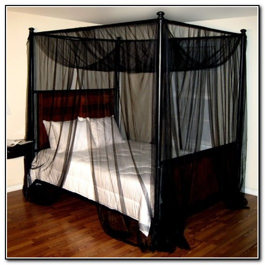 black canopy bed curtains beds home design ideas