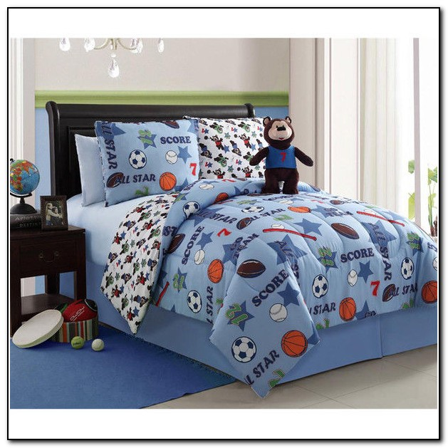 Toddler Bedding For Boys Sports