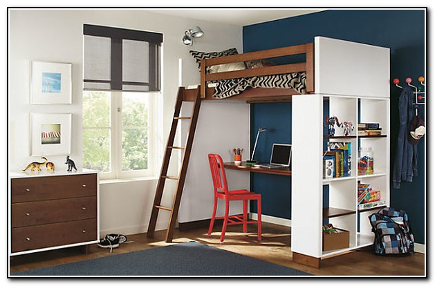 Bunk Bed With Desk Underneath For Adults