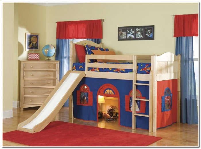 Cool Kids Beds With Slide