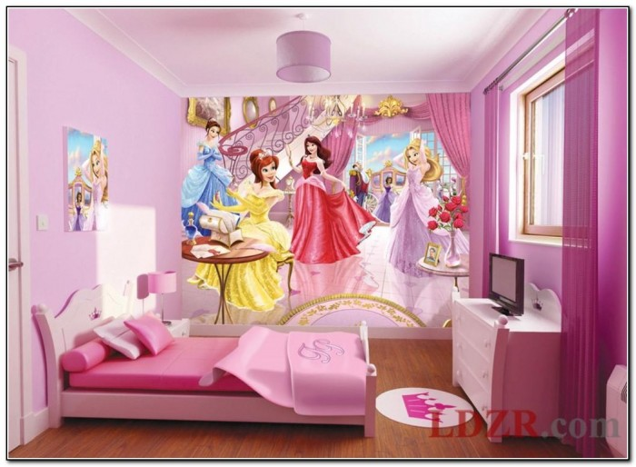 Disney Princess Bedroom Wallpaper
