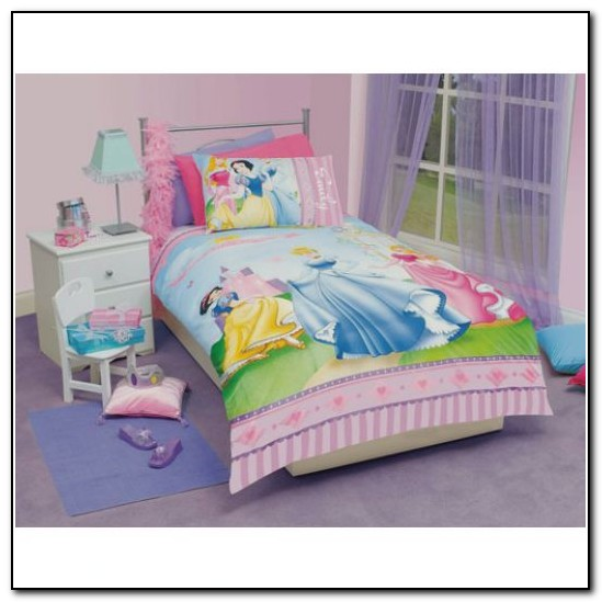 Disney Princess Bedroom